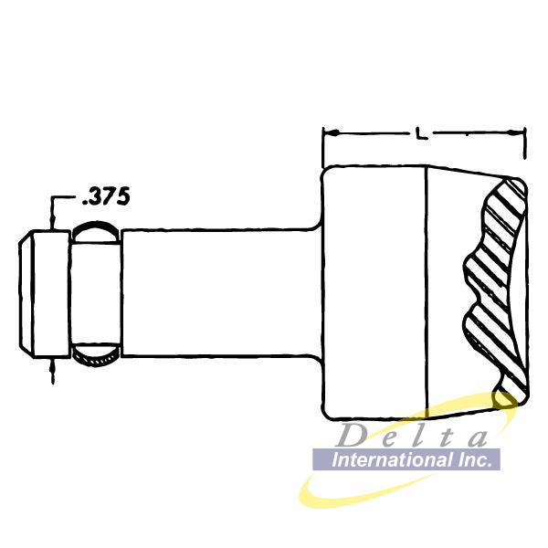 Tower DL260-4426 - Cupped Squeezer Set 0.375